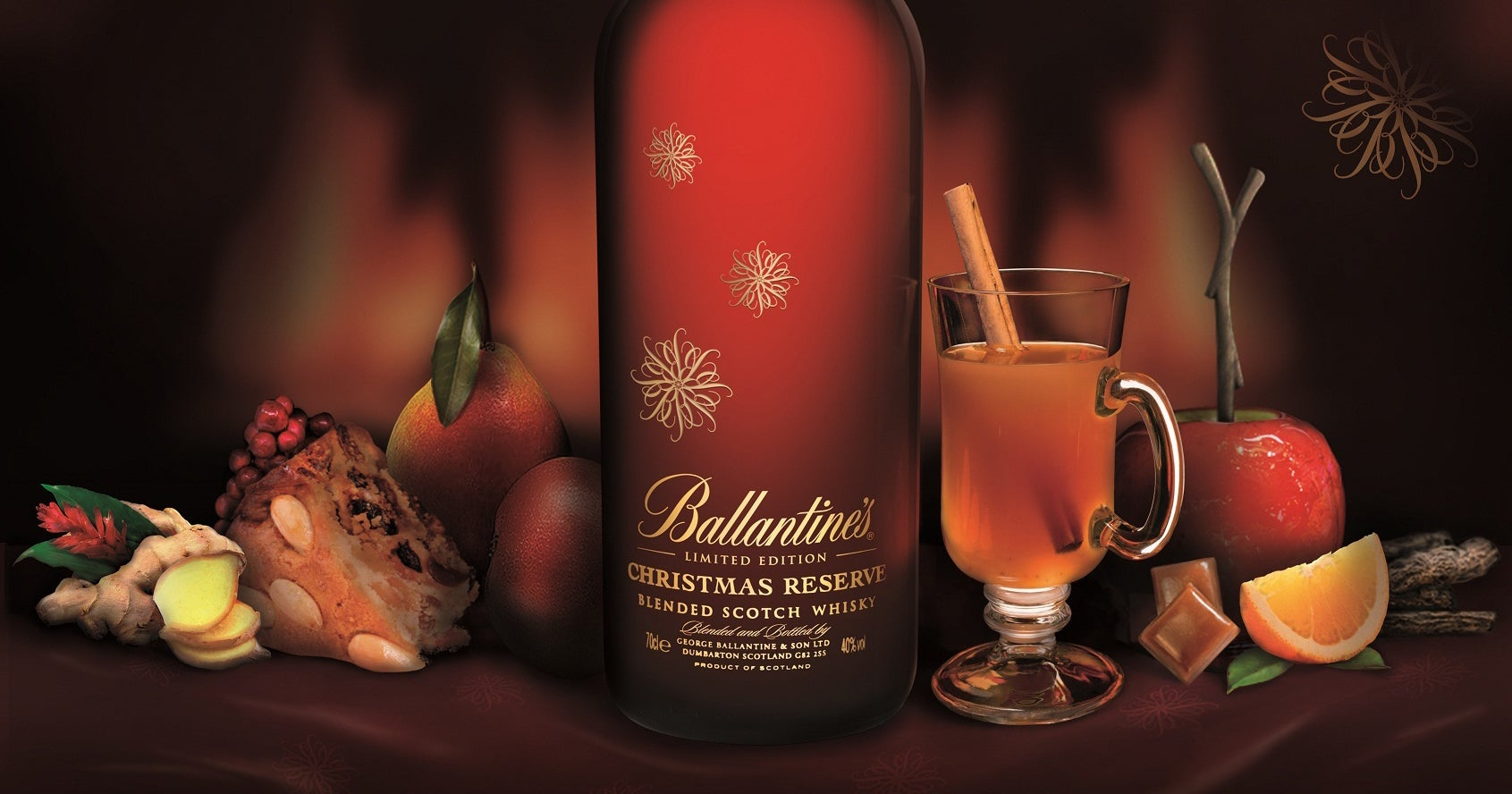 Ballantine's Christmas Reserve Hot Christmas Punch