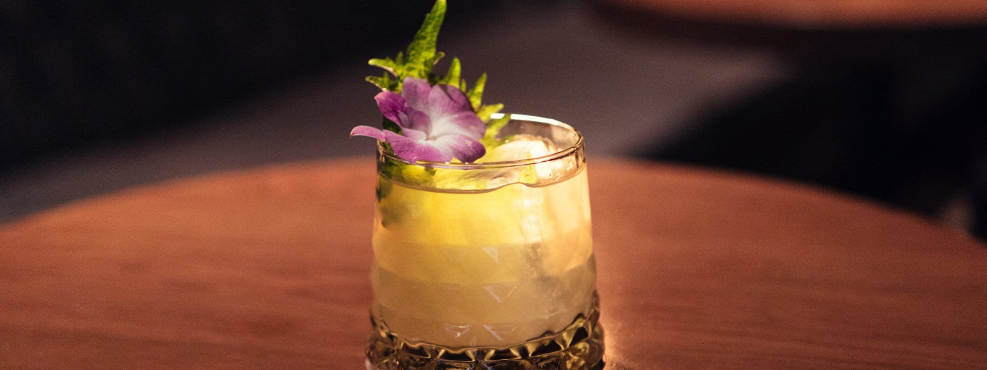 The Punch Room's famous Milk Punch cocktail