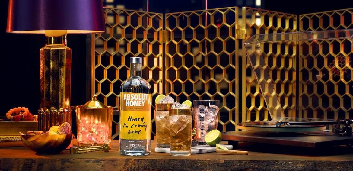 Absolut in airports: Honey I'm Coming Home!