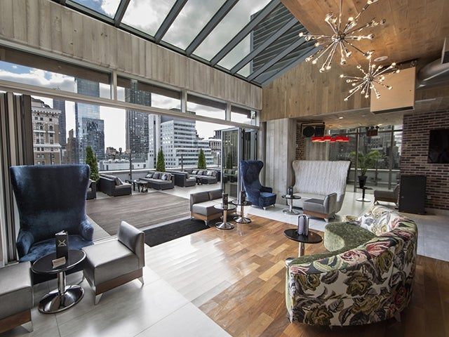 Monarch Rooftop Lounge In New York City Reviews Address