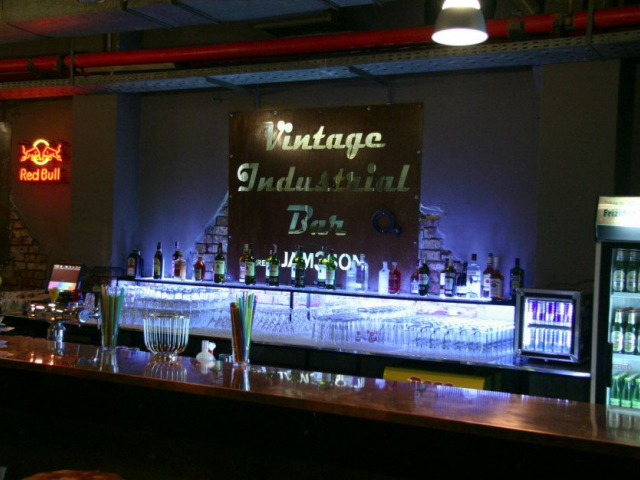 Vintage Industrial Bar
