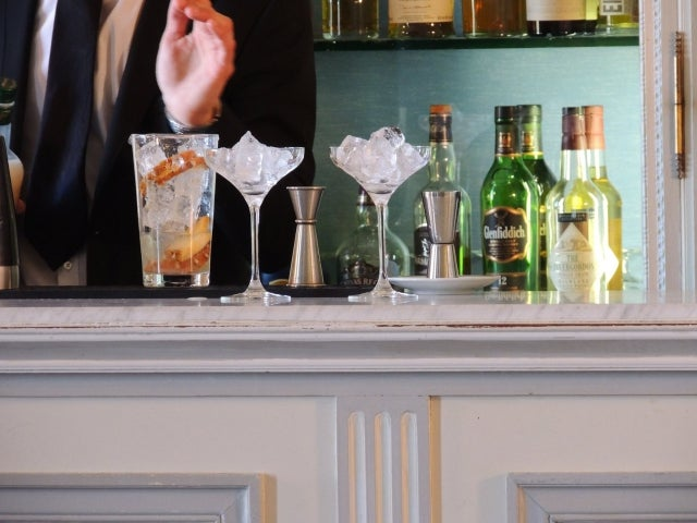 The Bar at Château d'Artigny