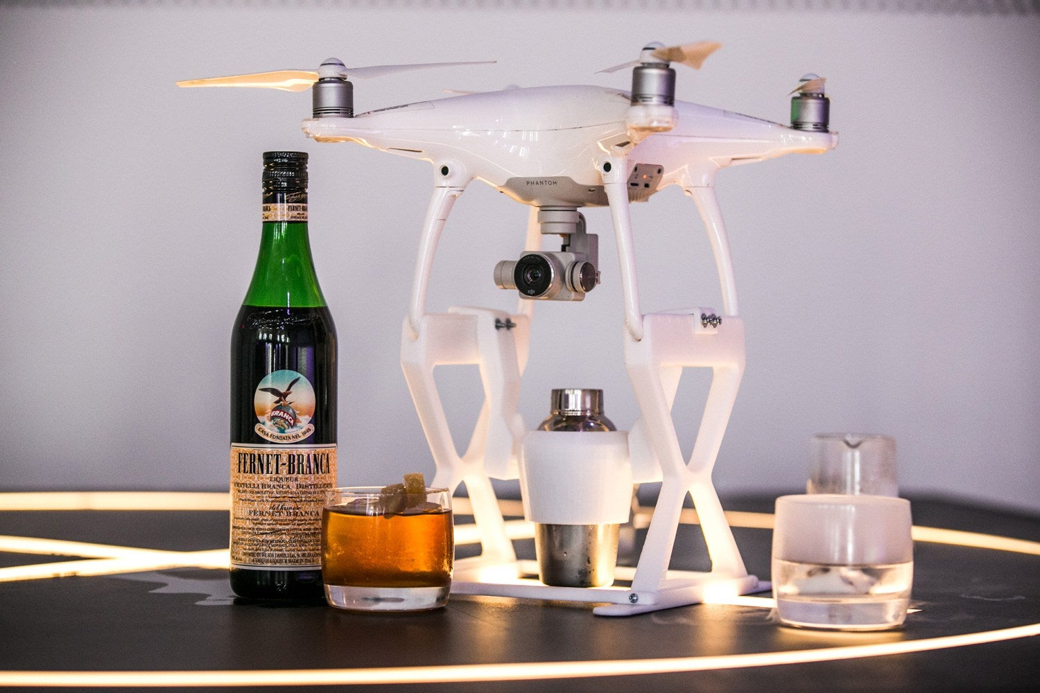 Cocktail revolution: drones that deliver drinks