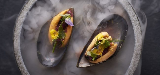 Smoked mussels - Eve bar