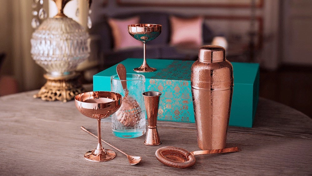 You'll want to get your hands on these copper cocktail accessories