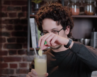 How to make a Chivas Collins   Rescue Cocktail (feat. Alex French Guy Cooking)