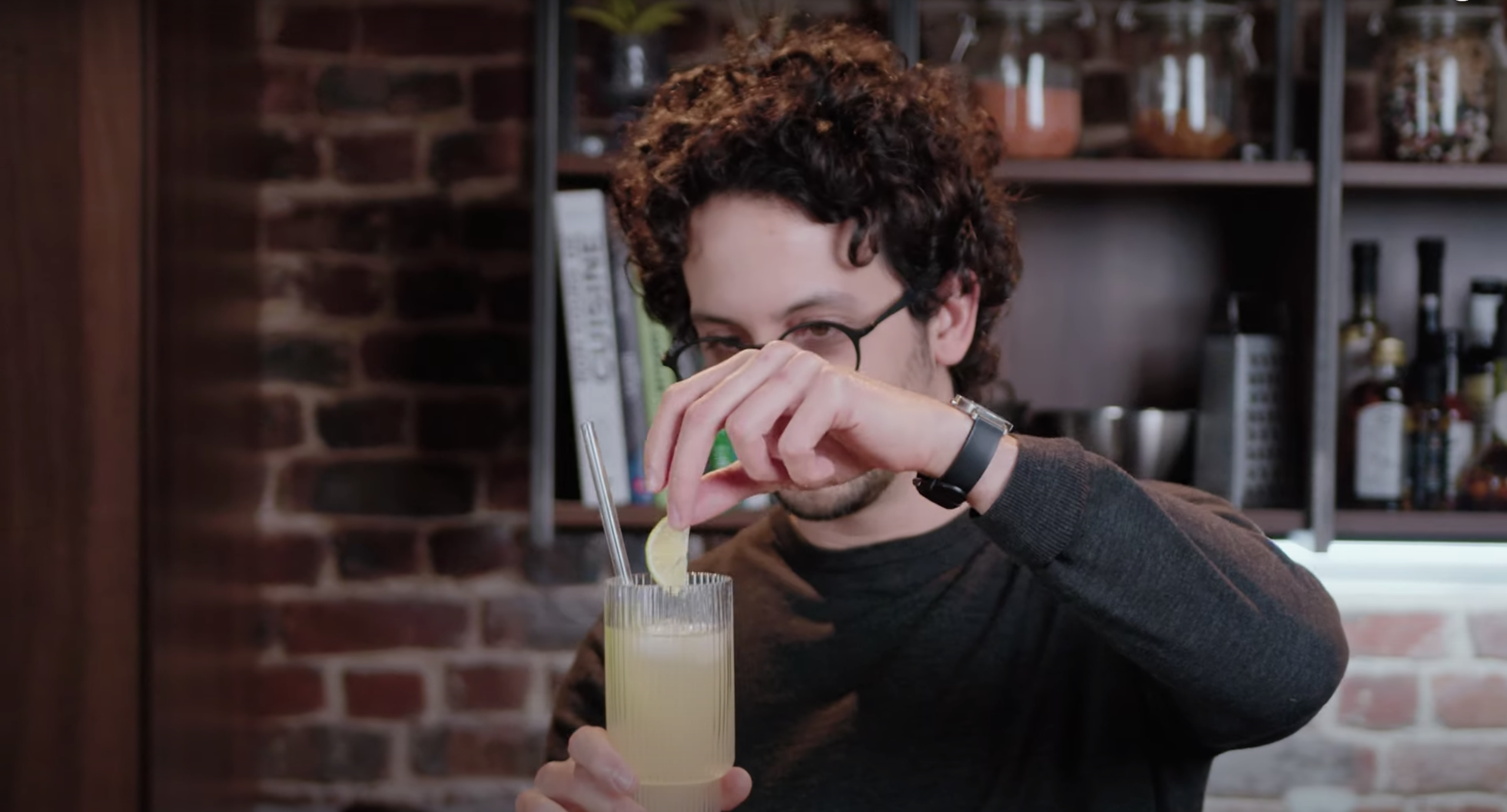 How to make a Chivas Collins | Rescue Cocktail (feat. Alex French Guy Cooking)