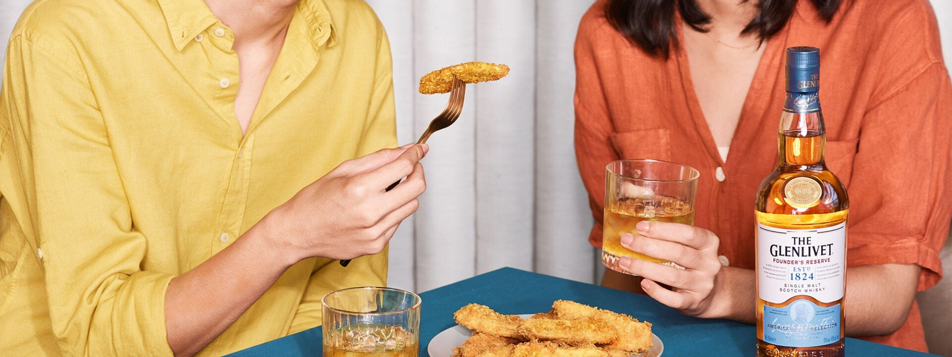 Asian snacks pair with whisky