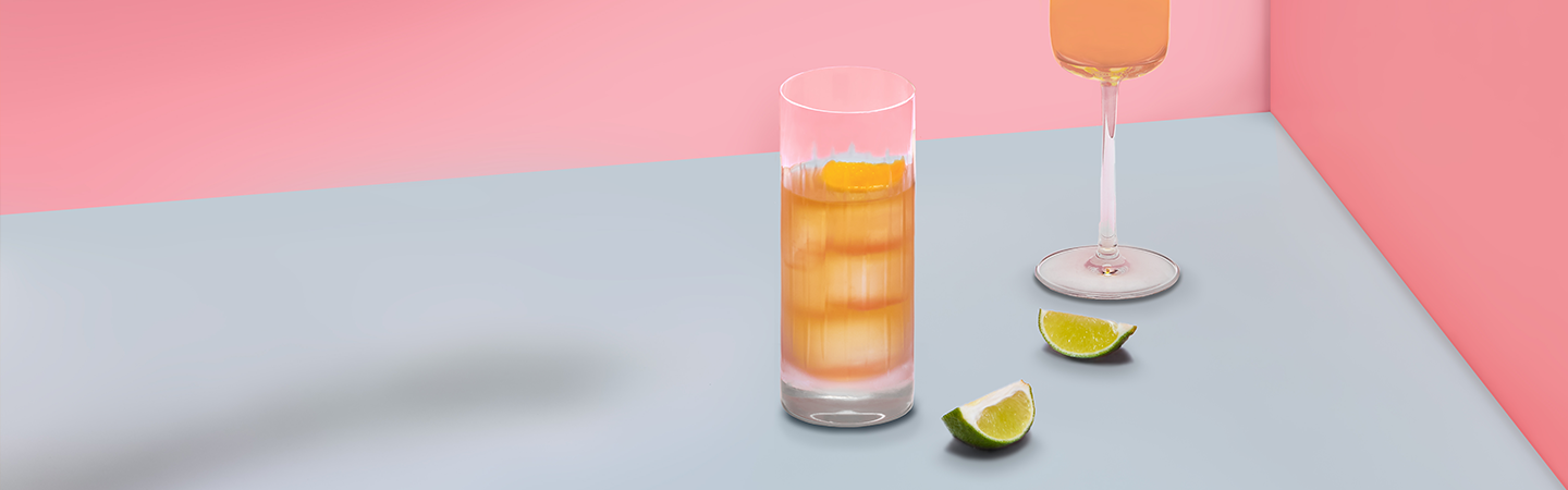 The Glenlivet whisky cocktail with lime